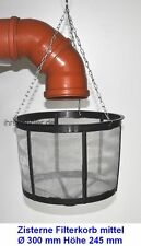 Cistern Filter basket Rain Water Strainer for tanks 11 13/16in NEW