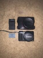 Canon PowerShot G1 X Mark II 9167B001 13.1MP 3in. Digital Camera - Black
