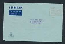 04339) Dänemark  Aerogramme meter 60 Öre 1960, Zudruck Europa-Union > Berlin