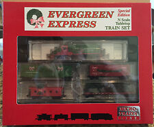 Micro-Trains N-Scale Special Edition Evergreen Express Christmas Sealed Mint Set