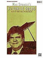 Mike Springer's Favorite Solos, Bk 3: 9 of His Original Piano Solos Paperback