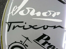 Trixon Black Vintage Logo Replacement Sticker