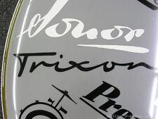 Trixon Black Vintage Logo Replacement Sticker