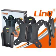 "Estribo Para LCD/Plasma Soporte TV Y Monitor De 13"" A 27"" 25kg Linq (LI-L017)"
