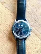 Omega Speedmaster Day-Date-Month-24h-Chronograph Blue  BJ 1994