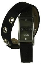 edc by Esprit double twist - green/black Damenuhr + extra Band Armband Uhr Uhren