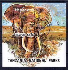 0601++TANZANIE BLOC ELEPHANT