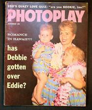 Vintage Photoplay Hollywood Magazine 1959 Debbie Reynolds Carrie Fisher Elvis