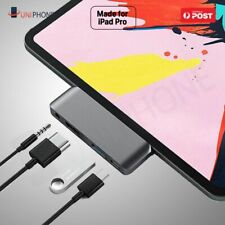 USB-C Hub 4K HDMI USB 3.0 Type C 3.5mm Earphone Jack Adapter iPad Air 4 Pro 2020