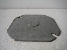 "Electrical Cover Plates 4"" Octagon 1/2"" Knockout"
