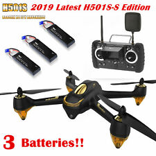 HUBSAN H501S S Pro 5.8G FPV Quadcopter Headless Mode GPS RTF Drone with 4M Pixel