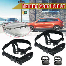 2PCS 5 Road Vehicle Car Fishing Carrier Rod Holder Belt Strap Tie Band