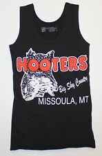 HOOTERS BIG SKY COUNTRY MISSOULA, MT GIRLS XX-SMALL XXS LYCRA BLACK UNIFORM TANK