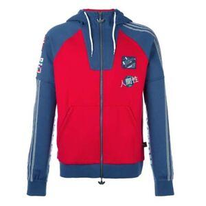 Adidas Originals - PHARRELL WILL. HU RACE FZ HOOD - GIACCA CASUAL - art.  BK4575