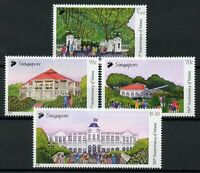 Singapore Architecture Stamps 2019 MNH Istana Residence of President 4v Set