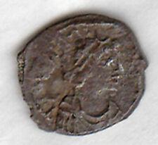 JUSTINIAN I (527-565AD) AR Silver Siliqua CARTHAGE Bust/ Monogram below S Fine
