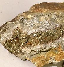 $589 Gold Ore Specimen Quartz 414 Carat !