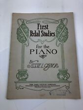 Vintage First Peda Studies For The Piano Jessie Gaynor John Church Company