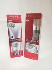 L'Oréal Paris Revitalift Volume Filler Lot of 2 , Night Cream & Serum, NEW