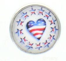 18mm Snap Charms Buttons Interchangeable Jewelry Heart Stars