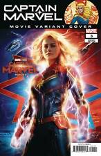 CAPTAIN MARVEL #3 MOVIE VARIANT COVER FROM MARVEL COMICS FAST SHIPPING!
