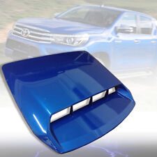 BONNET HOOD SCOOP VENT COVER BLUE FOR TOYOTA HILUX REVO M70 M80 2015 16 17 18