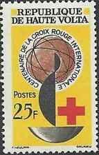 Timbre Santé Médecine Croix rouge Haute Volta 129 ** lot 22330