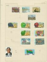 south african 1993 stamps page ref 17893