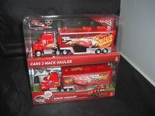 Disney Pixar Cars & Cars 3 Mack Hauler Rust-eze Lightning McQueen