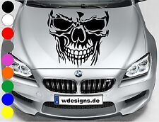 Autoaufkleber TOTENKOPF SKELETT SKULL Aufkleber Motorhaube Sticker Heckscheibe