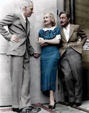 8x10 Print Carole Lombard Howard Hawks John Barrymore Studio Candid #CL1