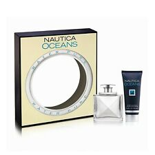 Nautica Oceans 1.7 oz / 50 ml Eau De Toilette spray & 3.4 oz / 100ml after shave