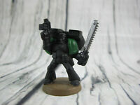Warhammer 40k 2003 Space Marine Painted Commander GW Unfinished