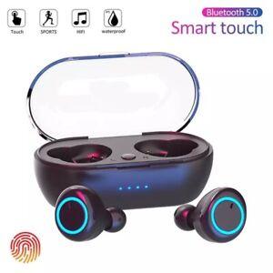 Y50 TWS Bluetooth Earphone 5.0 Wireless Headset IPX7 Waterproof Deep Bass Earbud