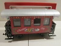 LGB 36078 CHRISTMAS 1998 PASSENGER CAR - NEW