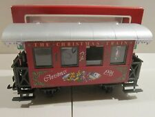 LGB 36078 CHRISTMAS 1998 PASSENGER CAR - NEW