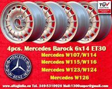4 Cerchi Mercedes Fuchs Baroque Bundt Cake 6x14 ET30 4 Felgen 4 wheels mit TUV