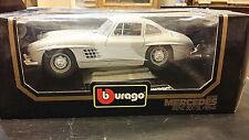 BURAGO MERCEDES BENZ 300 SL 1954 1:18  MADE IN ITALY 01/18