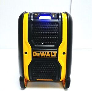 NEW Dewalt DCR006 20V Max Job site Bluetooth Speaker Battery Operated Or Corded
