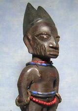 JUMEAU IBEJI YORUBA NIGERIA ART AFRICAIN ANCIEN STATUE AFRICAINE AFRICAN AFRIQUE
