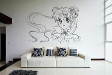 Wall Vinyl Sticker Decal Anime Manga Sailor Moon Girl VY189