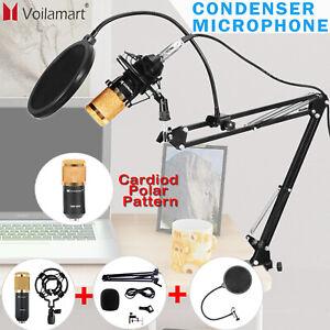 BM800 Condenser Microphone Kit USB Studio Audio Broadcast Sound Recording Stand