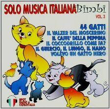 Solo Musica Italiana Bimbi - Vol. 3 CD