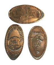 More details for vintage universal studios sea world shamu squashed coin penny cent florida usa