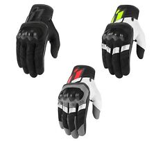 2018 Icon Overlord Touchscreen Motorcycle Glove - Pick Size and Color