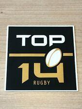 Exclu Nouveau Patch Badge officiel TOP 14 maillot Rugby saison 20/22 vendeur pro