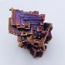 Bismuth Crystal - Large 97 Gram Specimen - USA Grown by Gem Stallion (B.1)