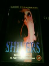 SHIVERS VHS aka They Came From Within David Cronenberg horror 70's pal rare
