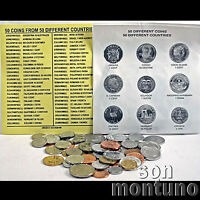 50 COINS FROM 50 DIFFERENT COUNTRIES - World Collection UNC - GREAT STARTER GIFT