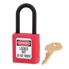 Master Lock 406 sécurité cadenas rouge (ML-406-RED)
